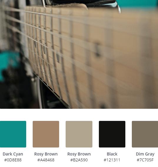 Green Colour Schemes for Website