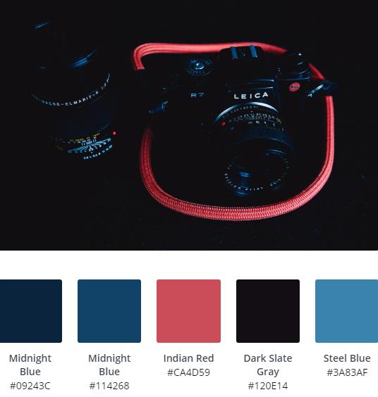 Dark Website Colour Scheme Ideas