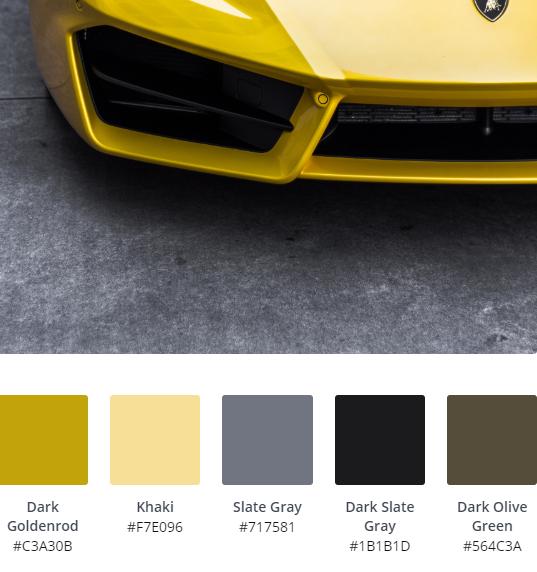 Luxury Website Colour Scheme 4
