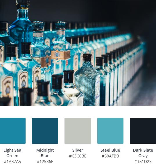 Luxury Website Colour Scheme 15