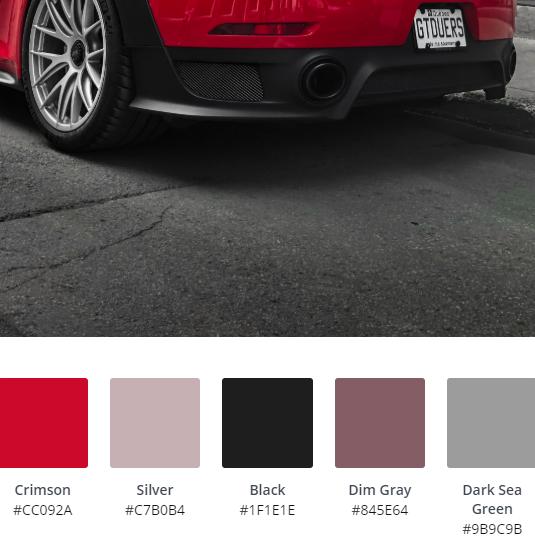 Luxury Website Colour Scheme 14