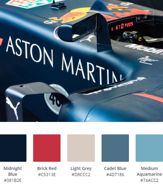 Luxury Website Colour Scheme 10