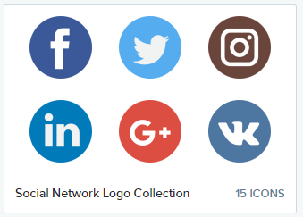 We're big fans of Flat Icon's Social Media Group!